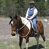 The Boys--Spring 2009 : My first ride on my Arab-Paint, Gabby! Perfect! It's not about the ride, it's about the relationship! Parelli rules! March 21, 2009